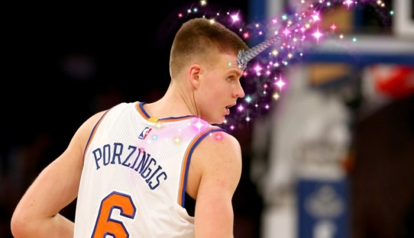Video  Kristaps Porzingis Says He Was Confused By Being Called A