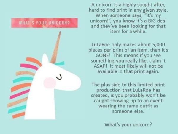 What Is A Lularoe Unicorn
