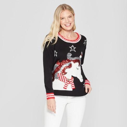 Women's Unicorn Christmas Ugly Sweater