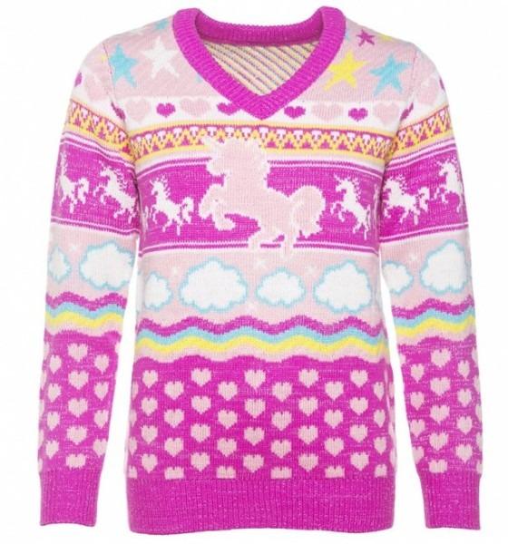 Women's Unicorn Knitted V