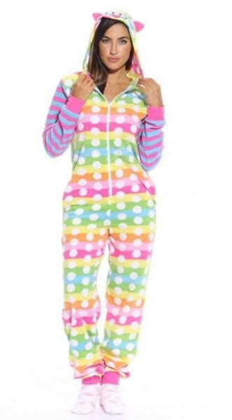 Womens Unicorn Onesie Take Nights In Up A Notch!