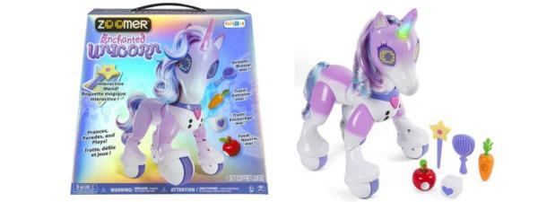 Zoomer Enchanted Unicorn Interactive Toy $76 49 (orig $110) + Free