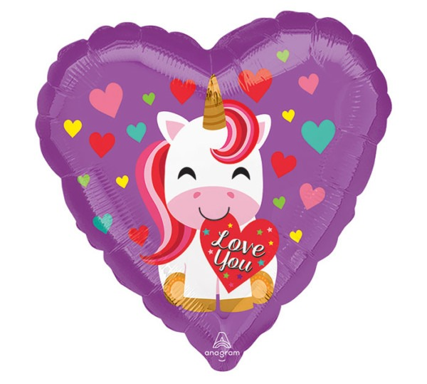 17 Luv Love You Unicorn