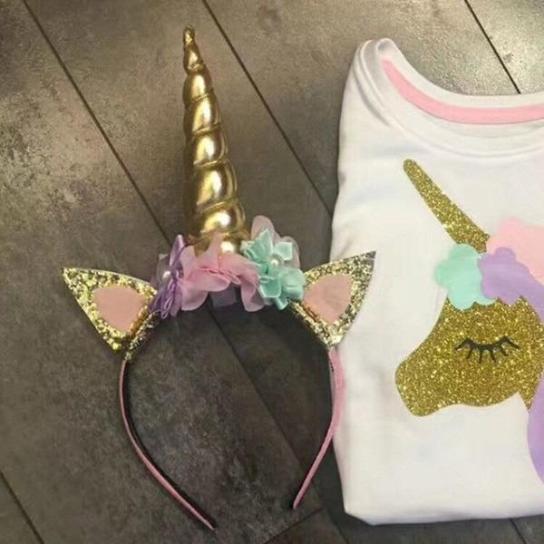 1pcs Princess Party Headband Party Decorations Head Hoop Unicorn