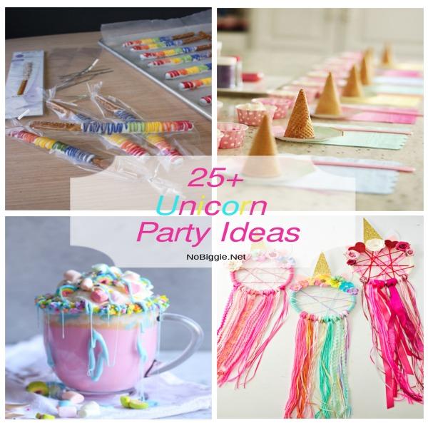 25+ Unicorn Party Ideas