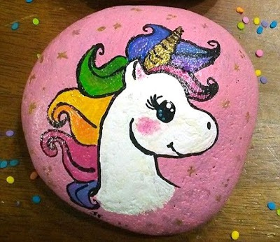 45 Magical Unicorn Rock Painting Ideas & Tutorials That Will Blow