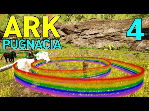 4] Baby Nightmare Pegasus And Rainbow Unicorns!!! (let's Play Ark