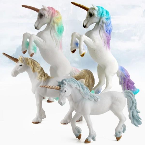 4 Colors Action&toy Figures Unicorn European Myths And Legends