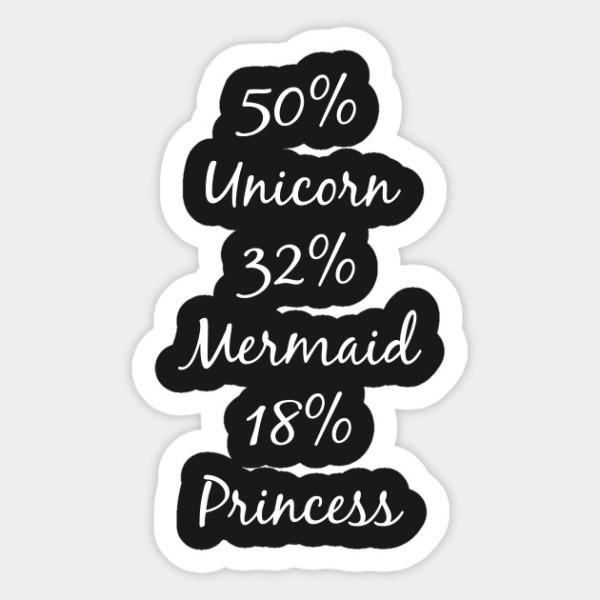 50  Unicorn 32  Mermaid 18  Princess Fantasy