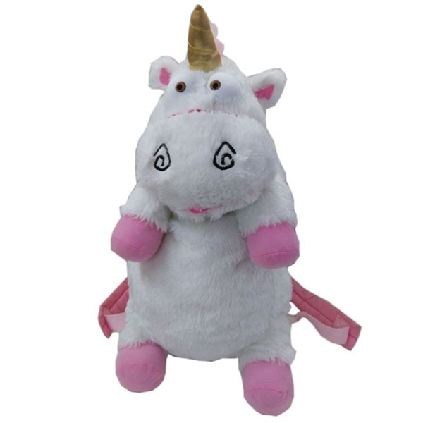 50cm Despicable Me Unicorn Bag Plush Unicorns Toy Backpack Toys