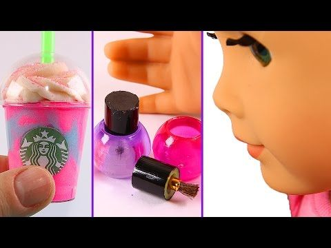 5 Ag Doll Crafts  Unicorn Frappuccino, Nail Polish, Starbucks, And