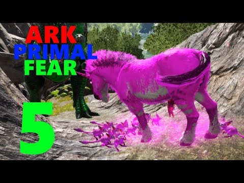 5] Taming A Malin Unicorn! (ark Primal Fear Modpack)