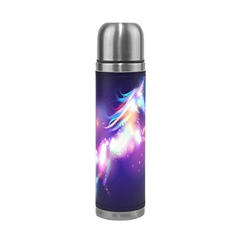 Alaza Galaxy Unicorn Water Bottle Stainless Steel Leak Proof