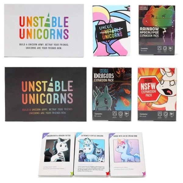 Aliexpress Com   Buy Unicorns Dolls Unstable Unicorns Game Cards