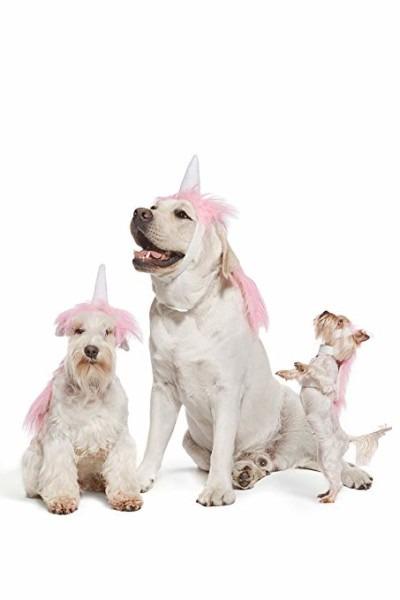 Amazon Com   Pink Unicorn Costume For Dogs Pups Mane & Horn