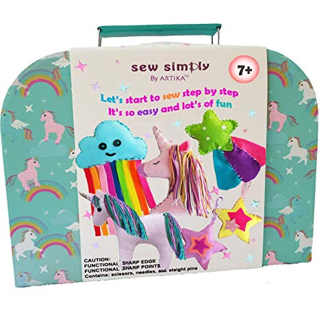 Amazon Com  Artika Sewing Kit For Kids, Diy Craft For Girls, The
