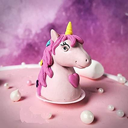 Amazon Com  Astra Gourmet 1pc Mini Polymer Clay Unicorn Figurines