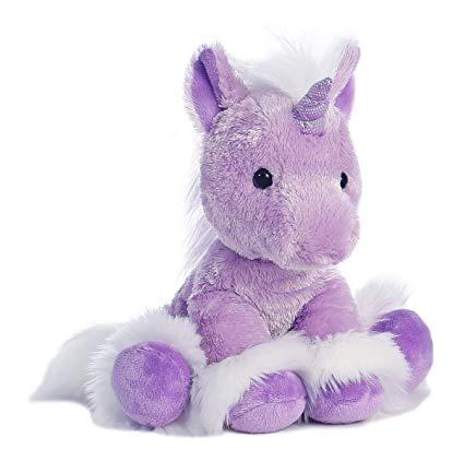 Amazon Com  Aurora World Dreaming Of You Plush Unicorn, Purple, 12