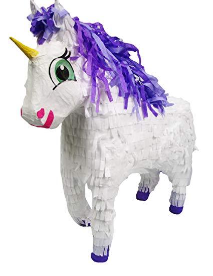 Amazon Com  Aztec Imports Fairytale Unicorn Pinata  Toys & Games