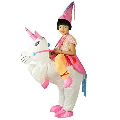 Amazon Com  Ehomelife Kids Inflatable Unicorn Costume Halloween