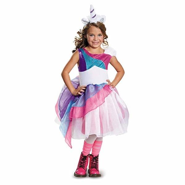 Amazon Com  Girls Unicorn Halloween Costume  Toys & Games