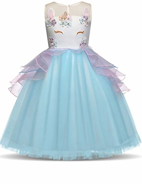 Amazon Com  Ibtom Castle Kids Girls Cartoon Dress Birthday Party