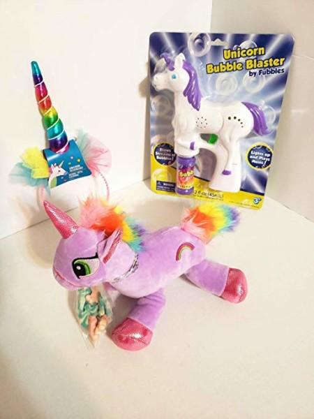 """Amazon Com  Jgt Unicorn 17"""" Stuffed Animal Plush Musical Light"""