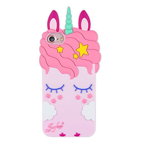 Amazon Com  Joyleop Pink Unicorn Case For Iphone 5 Se 5s 5c