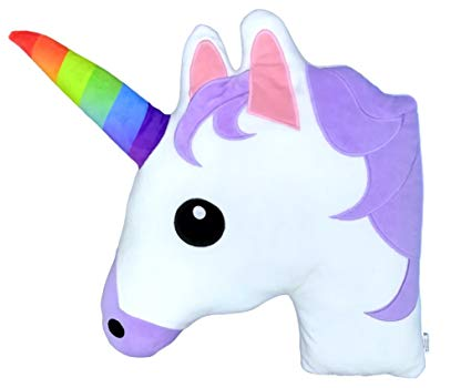 Amazon Com  Monqiqi Unicorn Throw Pillow, 14  Emoji Plush Pillow
