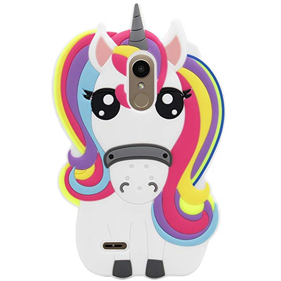 Amazon Com  Mulafnxal Rainbow Unicorn Case For Lg K20 V K20 Plus