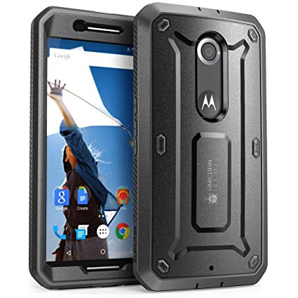 Amazon Com  Nexus 6 Case, Supcase [heavy Duty] Belt Clip Holster