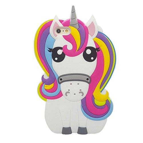 Amazon Com  Rainbow Unicorn Iphone 6   6s Case, Xinsircute 3d