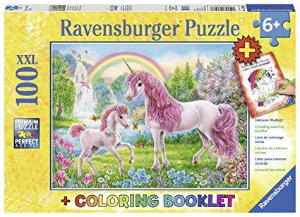 Amazon Com  Ravensburger 13698 Magical Unicorns Jigsaw Puzzles