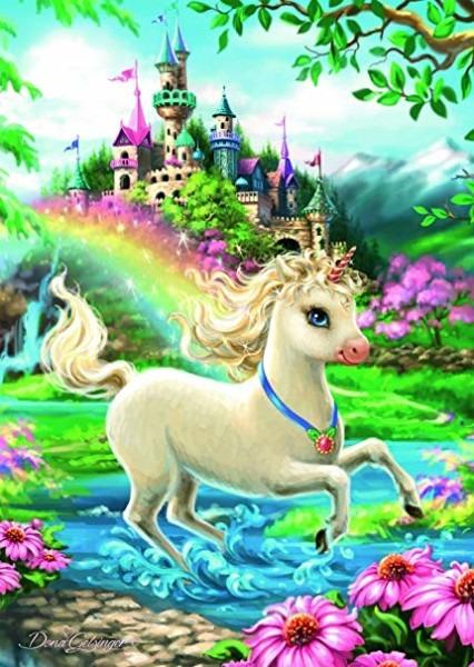 Amazon Com  Ravensburger Unicorn Castle 35 Piece Jigsaw Puzzle For