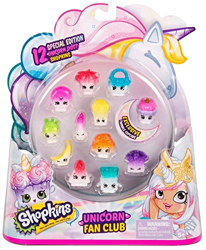 Amazon Com  Shopkins Unicorn Fan Club Special Edition