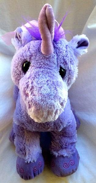 Amazon Com  Toys R Us Plush Purple Unicorn  Toys & Games