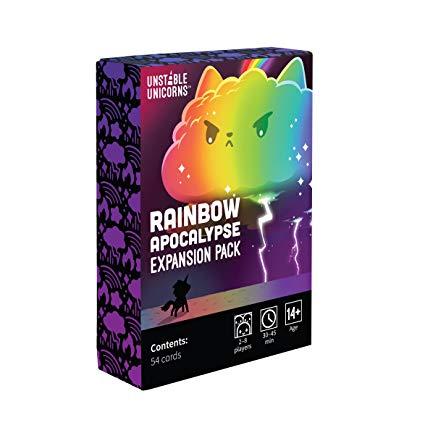 Amazon Com  Unstable Unicorns Rainbow Apocalypse Expansion Pack