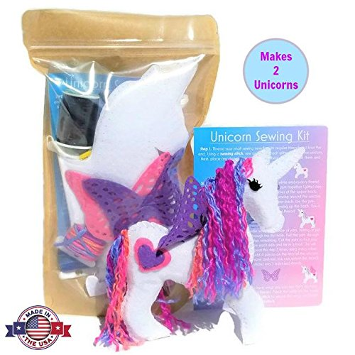 Amazon Com  Wildflower Toys Unicorn Sewing Kit For Girls