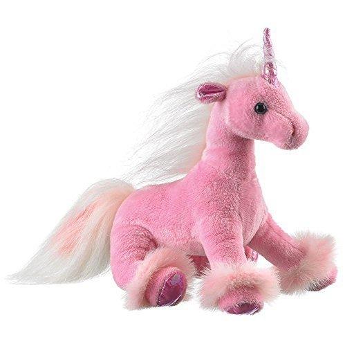 Amazon Com  Wildlife Artists Unicorn Plush Stuffed Toy, Pink  Toys