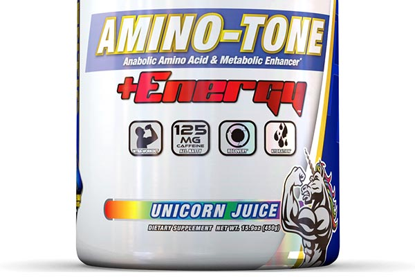 Amino Tone Energy Introduced With A Free Tub Of Stacked No