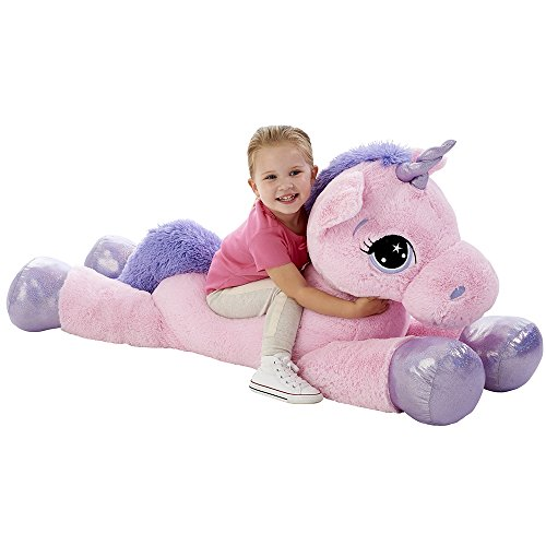 Animal Alley Pink 45  Unicorn Soft Toy  Patchwow  Toys & Games