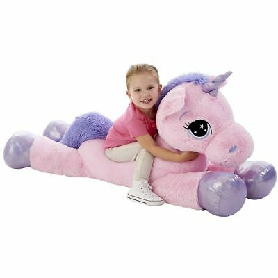 Animal Alley Pink 45  Unicorn Soft Toy Great Christmas Gift For