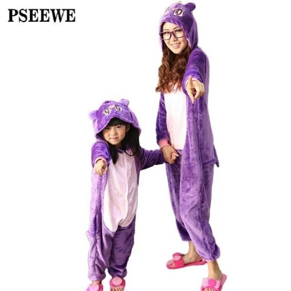 Animal Pajamas One Piece Family Matching Outfits Adult Onesie