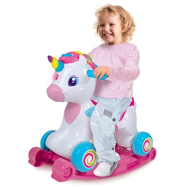 Baby Clementoni Interactive Ride On Unicorn