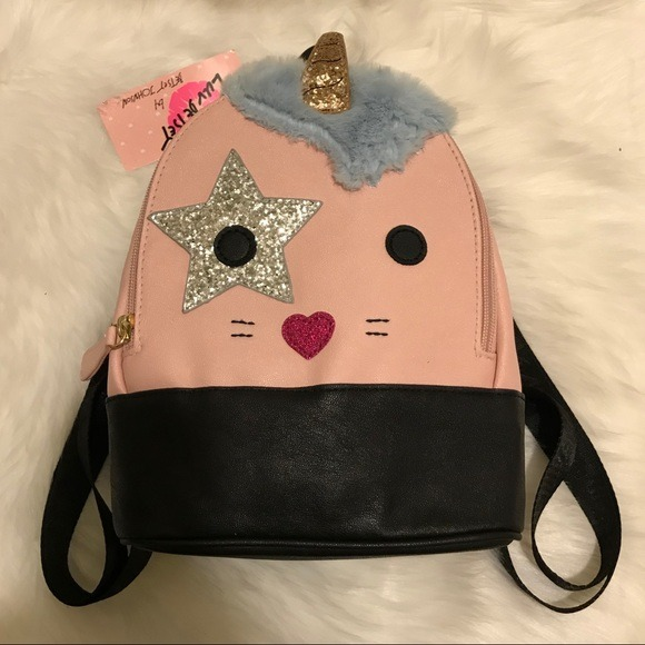 Betsey Johnson Unicorn Backpack