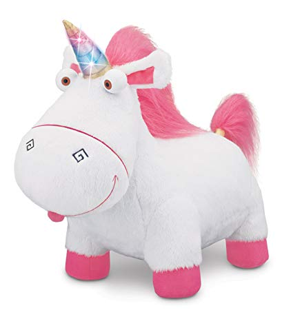 Buy Despicable Me 2 Agnes' Fluffy Unicorn Plush Online At Low