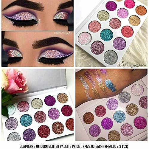 Buy Glamierre Unicorn Glitter Eyeshadow Palette Online At Low