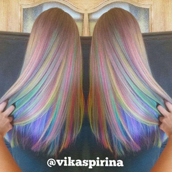 Crazy Rainbow Hairstyles!