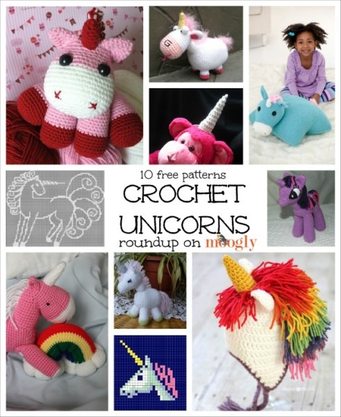 Crochet Is Magic  10 Free Crochet Unicorn Patterns!