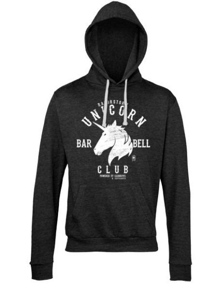 Dd Unicorn Barbell Hoodie